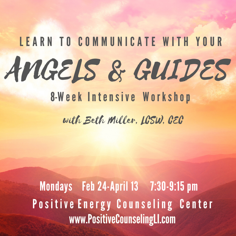 Communicate with Your Angels & Guides @ Positive Energy Counseling Center